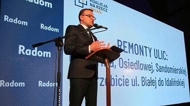 Wybory samorządowe 2018 w Radomiu. Konwencja Koalicji na Rzecz Zmian Radosława Witkowskiego
