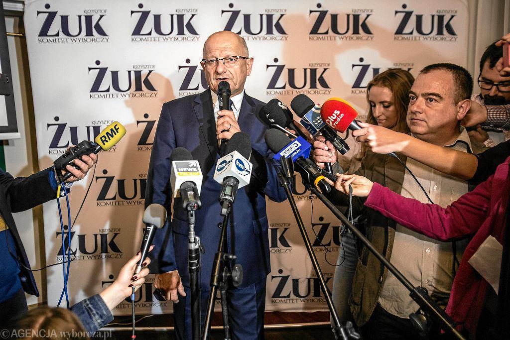 Krzysztof Żuk po wygranej
