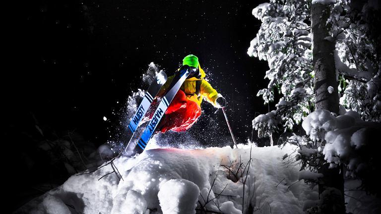 Narciarz z Kościeliska, Szymon Styrczula Maśniak na nartach Majesty