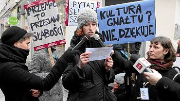 Marsz ''Solidarne przeciw kulturze gwałtu''