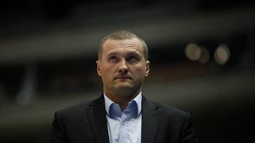 Trener Mariusz Niedbalski