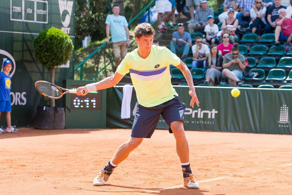 Sanjar Fayziev (UZB) vs Kamil Majchrzak (POL), Poznań Open 2017