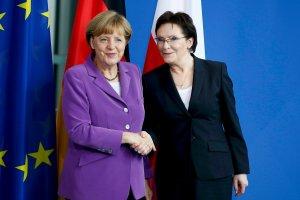 Kopacz spotka si� z Merkel w miejscu symbolicznego polsko-niemieckiego pojednania