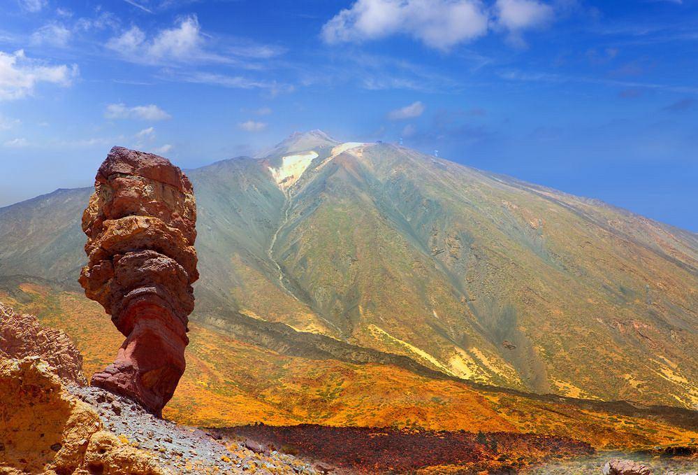 Wysypy Kanaryjskie Teneryfa - wulkan Teide / shutterstock