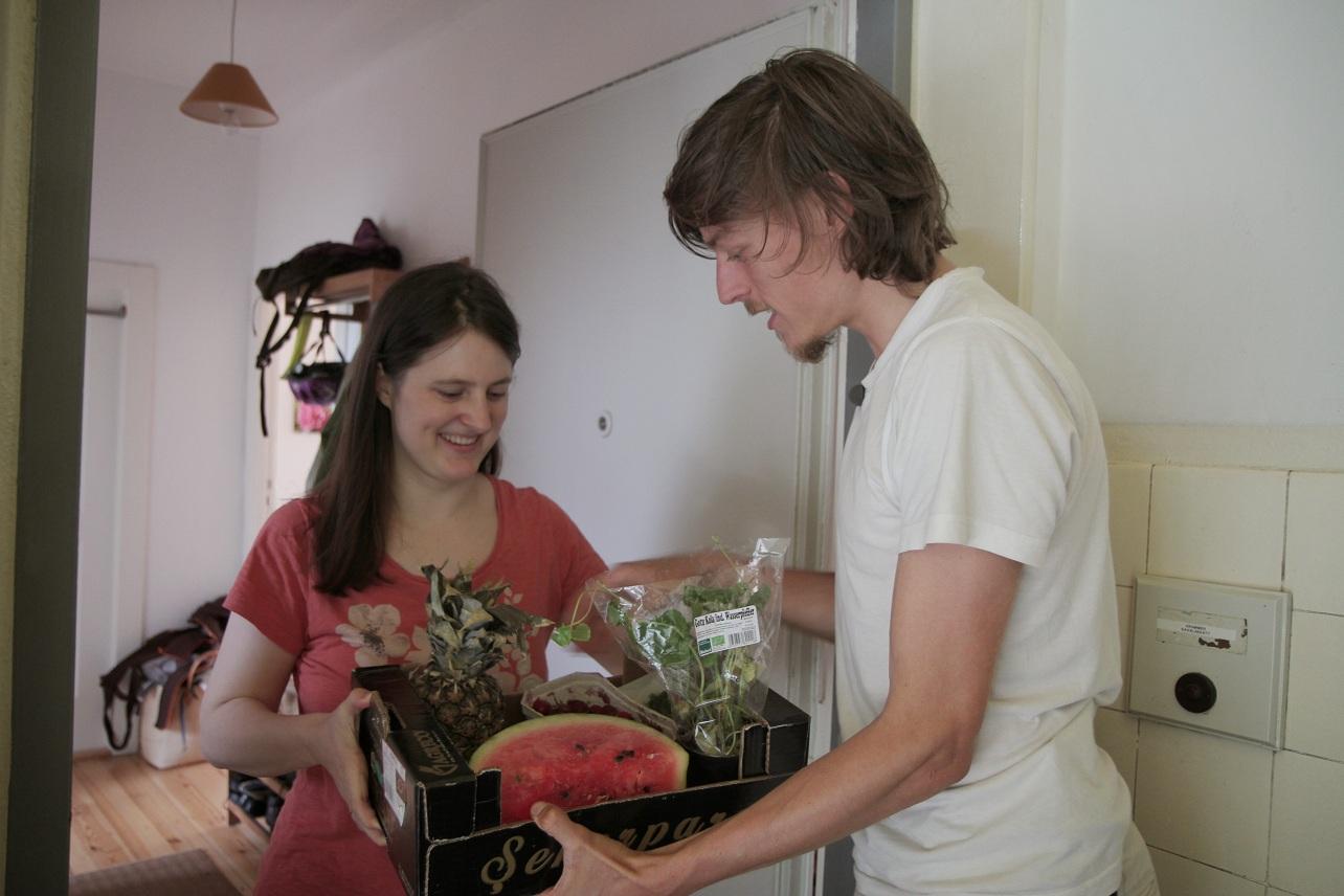 Raphael Fellmer: Razem z żoną i dwójką dzieci współdzielimy mieszkanie z ludźmi, którzy postanowili żyć zgodnie z ideą dzielenia i wymiany (fot. archiwum prywatne)