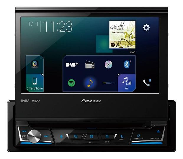 Nowe systemy multimedialne Pioneer