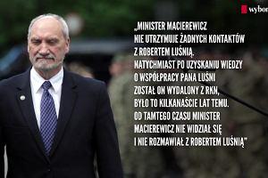 """""""Ten wrz�d trzeba przeci��""""- Opozycja ostro o Antonim Macierewiczu"""