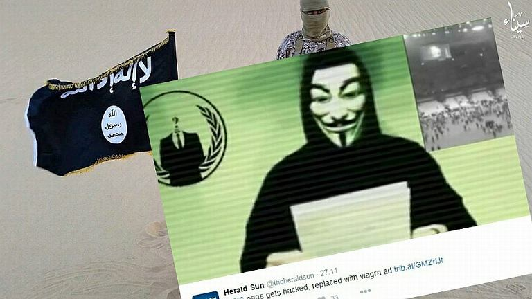 Anonymous zaatakowali stronę ISIS