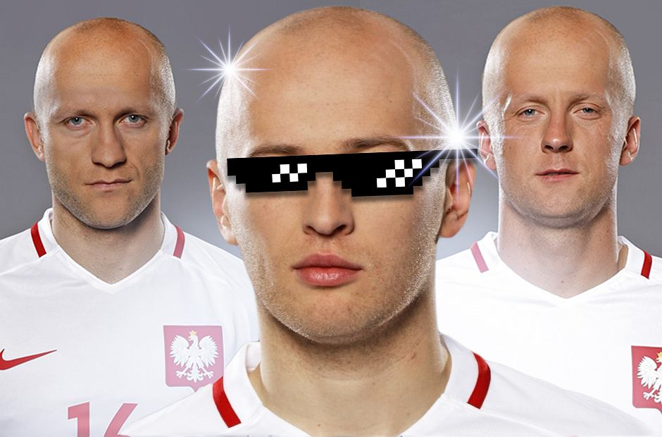 Zdjęcie numer 0 w galerii - Euro 2016. Wszyscy chcą być jak on! Piłkarze reprezentacji Polski jako Michał Pazdan [ZDJĘCIA]