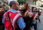 Gumowe kule przeciwko uczestnikom parady Gay Pride w Stambule. Policja rozpędziła demonstrację