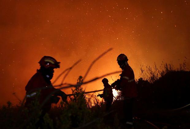 Pożary w Portugalii