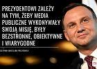 Andrzej Duda podpisał serie ustaw: o sześciolatkach, służbie cywilnej i mediach publicznych