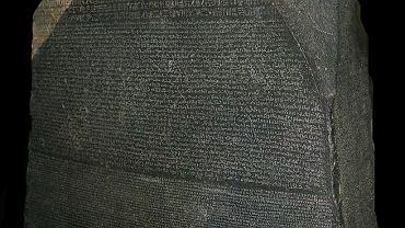 Kamień z Rosetty w British Museum
