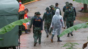 Tajlandia. Chłopcy w jaskini spędzili ponad dwa tygodnie