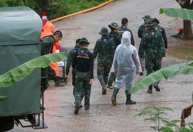 Zdjęcie numer 1 w galerii - Akcja ratunkowa w Tajlandii. Już jest decyzja - powstanie film o uwięzionych chłopcach