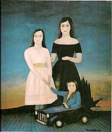 Maria Anto, Dzieci, 1969, dzięki uprzejmości BWA - Galeria Zamojska /