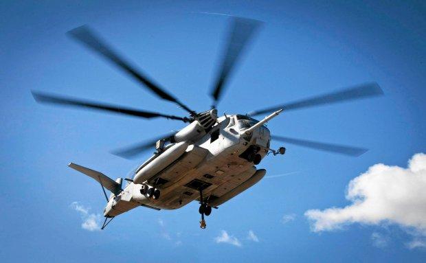 �mig�owiec typu CH-53E na Hawajach
