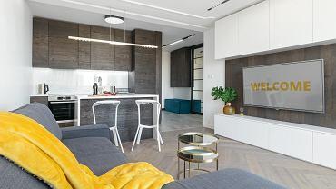 Minimalistyczne mieszkanie w Poznaniu