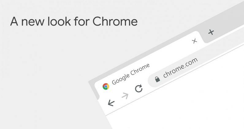 Nowy Google Chrome