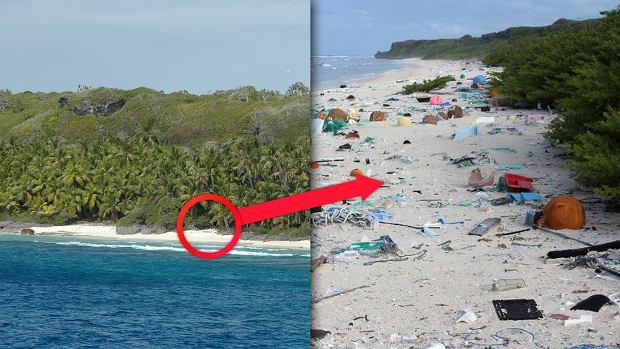 Ta wyspa znajduje się na liście UNESCO. Jest też najbardziej zaśmieconym miejscem na świecie [ZDJĘCIA]
