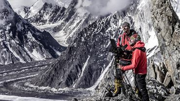 Ekipa filmowa 'Broad Peak' w Karakorum