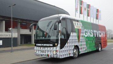 Nowy autobus GKS- Tychy
