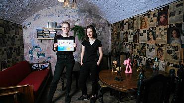 Studentki ASP Olga Rusinek i Agata Grabowska naraziły się władzom uczelni wystawą krytyczną wobec dorobku jej rektora