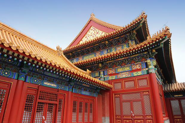 Chiny - Pekin. Architektura Pekinu