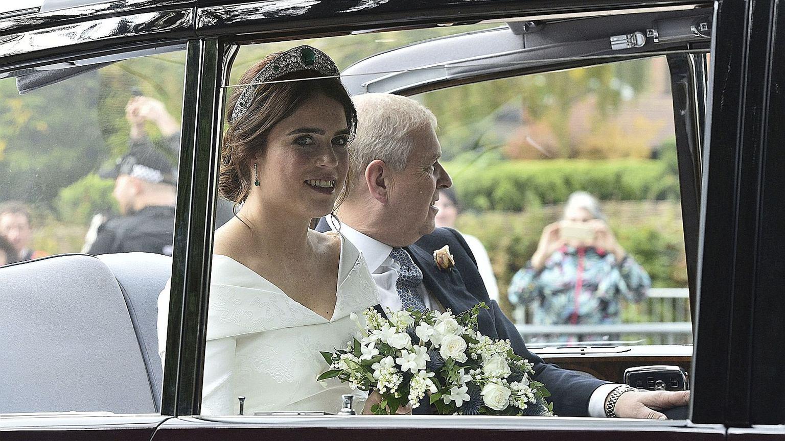 Księżniczka Eugenia wzięła ślub. Gości obowiązywał specjalny dress code