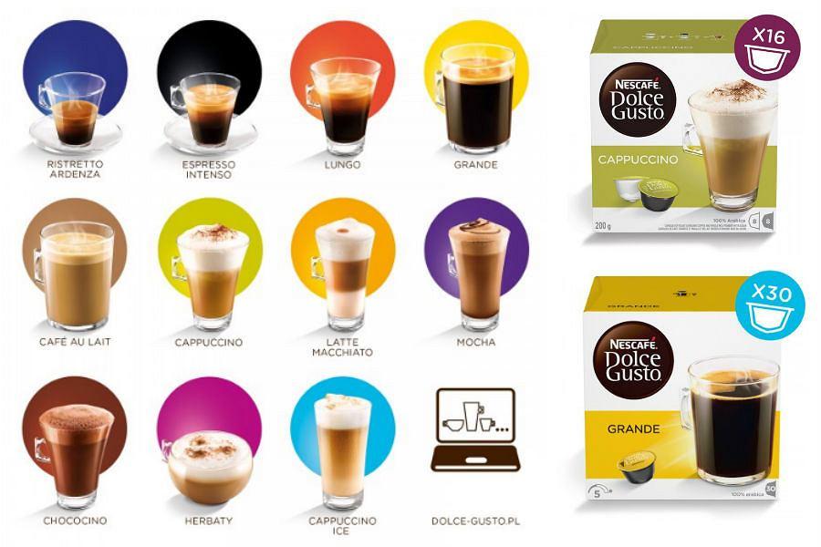 Kapsułki z kawą