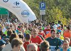 Marato�czycy biegli przez Warszaw�. Kenijczyk by� najszybszy [ZDJ�CIA]