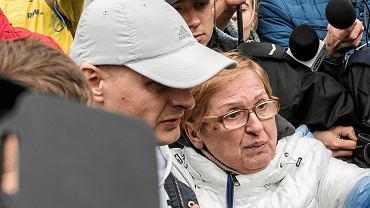 Tomasz Komenda po 18 latach spędzonych w więzieniu wychodzi na wolność. Wrocław, 15 marca 2018