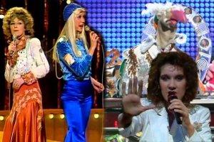 Eurowizja. Zero punktów od każdego jurora, ABBA i śpiewający indyk. Te występy przeszły do historii konkursu