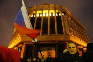 """""""Konflikt na Krymie jest sztucznie podsycany"""" - Nedim Usejnow, politolog, Tatar krymski w TOK FM"""