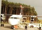 Tania i komfortowa pustym samolotem podr� do Krakowa [RAPORT]