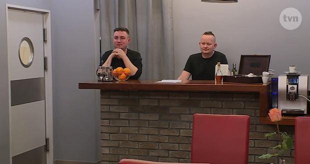 Szymon i Jarek, właściciele restauracji 'Kwadratowy talerz'