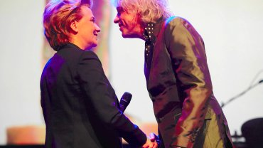 Soundedit. Hanna Zdanowska i Bob Geldof