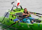 Samotna kobieta płynie 6000 mil kajakiem przez Pacyfik. I doskonale wie, co robi