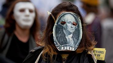 Argentyna, protest przeciw rozmowom z MFW