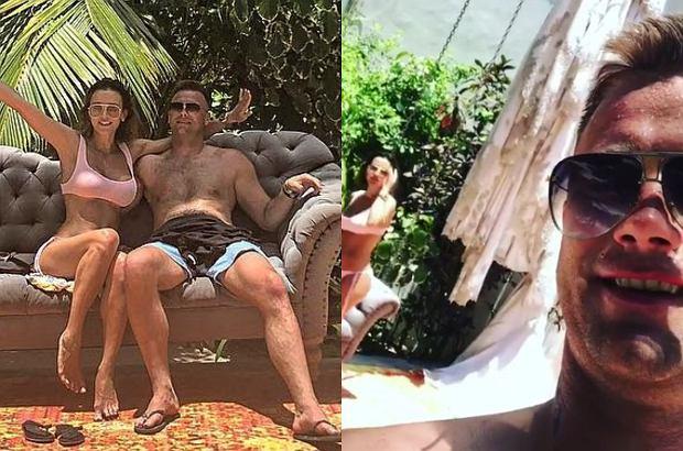 Sara i Artur Boruc wypoczywają w Meksyku. Zdjęciami z raju chwalą się na Instagramie.