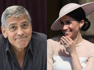 George Clooney, księżna Meghan