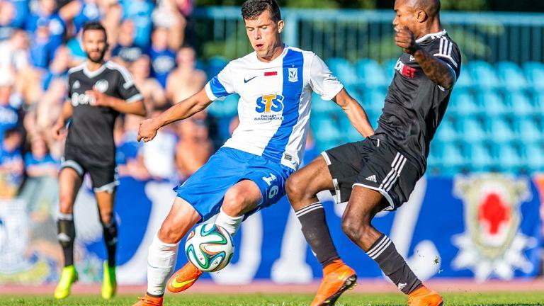 Kalju Nomme - Lech Poznań w II rundzie kwalifikacji do Ligi Europejskiej. Darko Jevtić