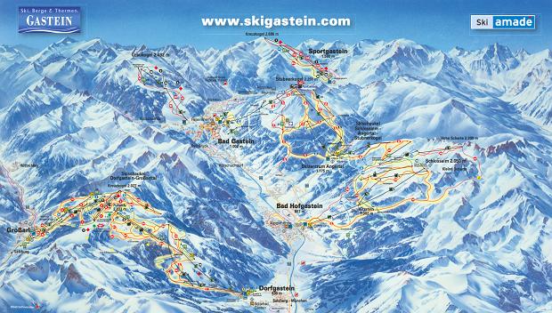 ski amade, gastein, narty w austrii