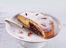 Ciasto �liwkowe z migda�ami - ugotuj