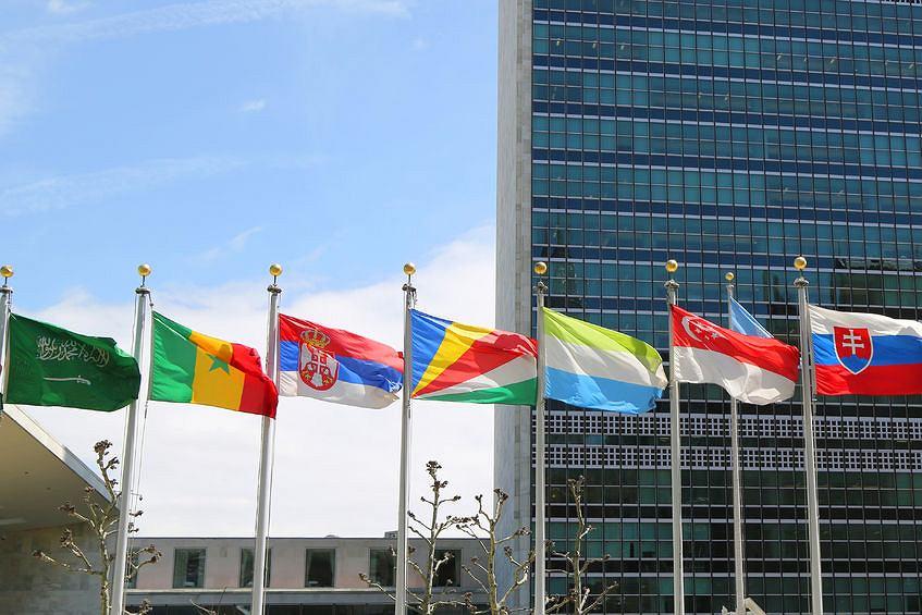 Główna kwatera ONZ w Nowym Jorku