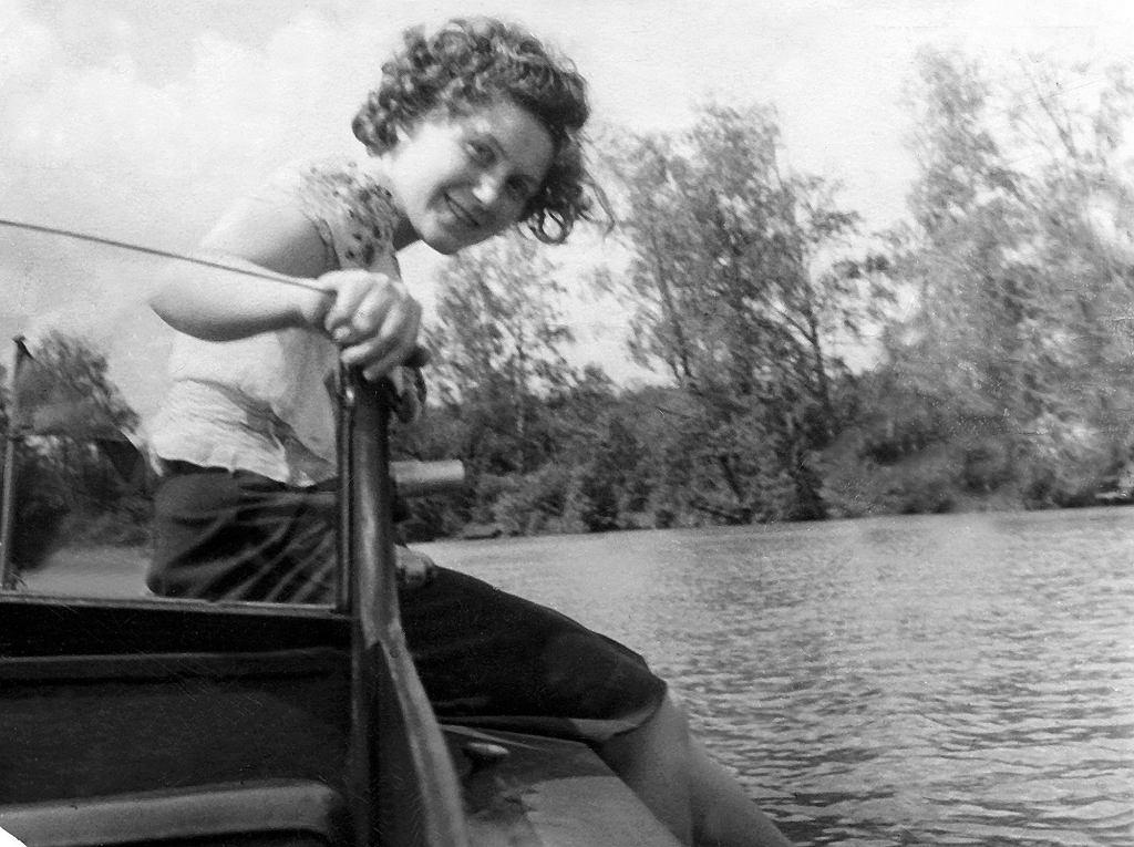 Swietłana w latach '40 (fot. Eastnews)