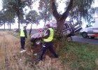 Troje dzieci i kierująca autem matka ranni w wypadku [ZDJĘCIA]