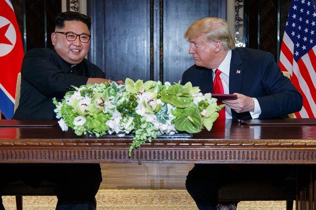 Zdjęcie numer 4 w galerii - Dziennikarze myśleli, że to dziwny film koreańskiej propagandy. Okazało się, że to dzieło Donalda Trumpa