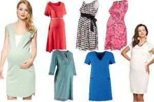 Sukienki na lato dla przyszłych mam. Ponad 20 propozycji