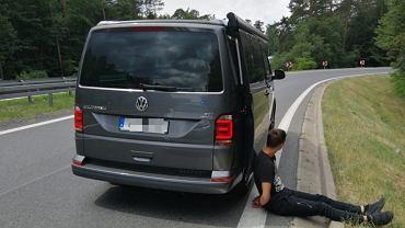 Za kierownicą skradzionego w Niemczech kampera siedział 20-letni Litwin